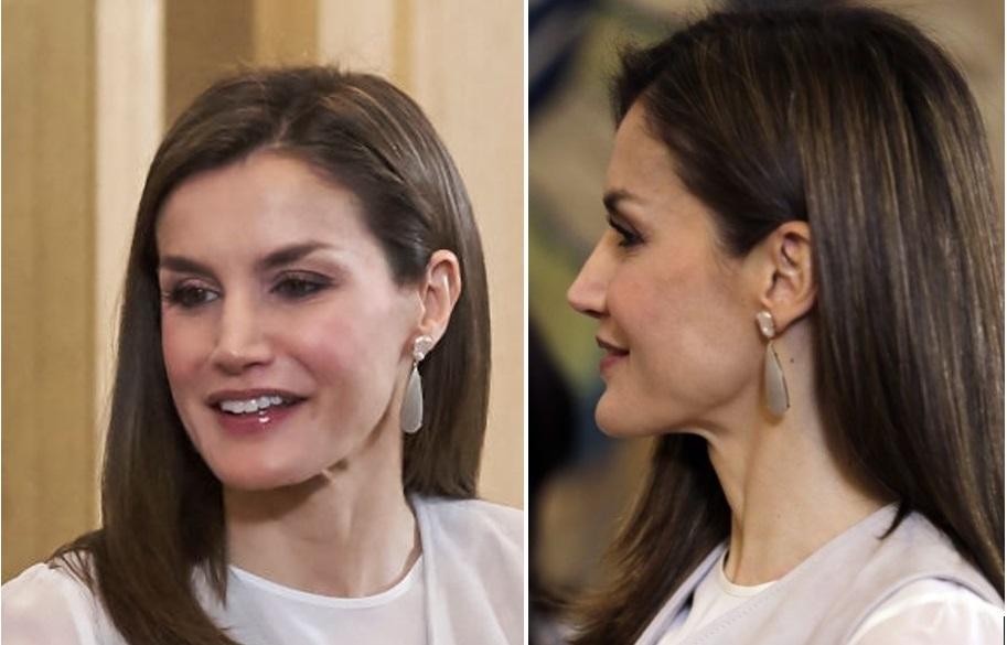 Letizia Ortiz con error de fondo de maquillaje