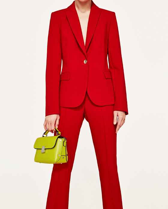 FOTO 12: Bolso verde lima de Zara