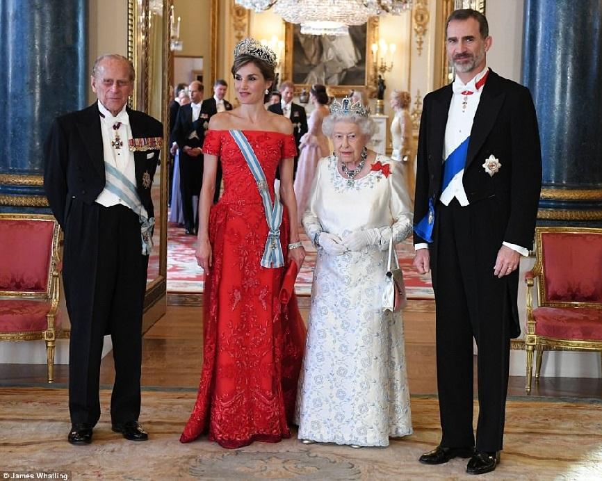 Visita de Estado al Reino Unido de los Reyes Felipe VI y Letizia del ...