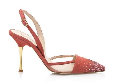 FOTO 11: Zapatos salmón con chispas en la punta