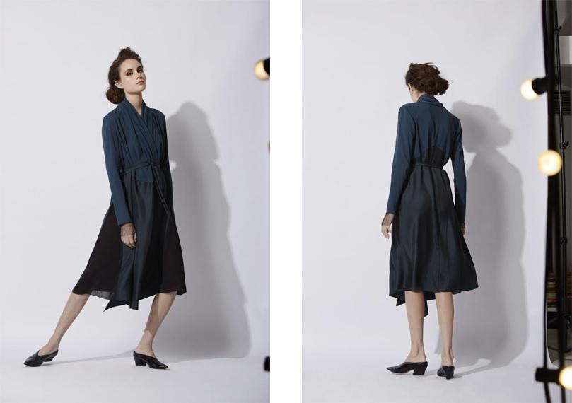 FOTO 10  Modelo con vestido oscuro FOTO 11  Modelo con mismo vestido (otro 545cf501902c