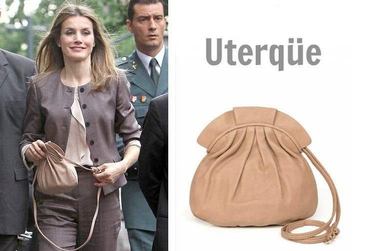 FOTO 11: Leti y su bolso de Uterque
