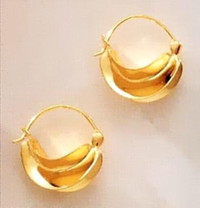 FOTO 19: Pendientes de oro