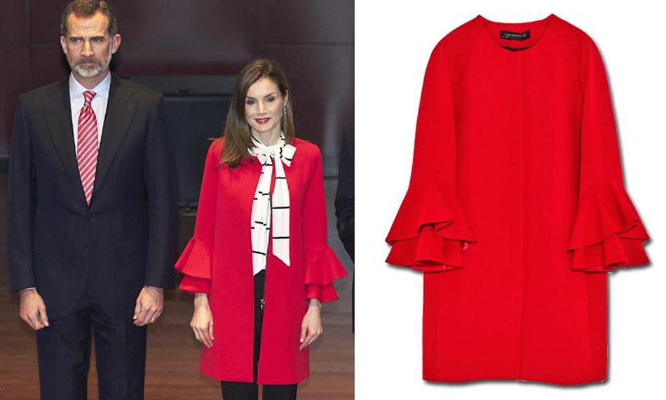 FOTO 5: Leti y su abrigo rojo