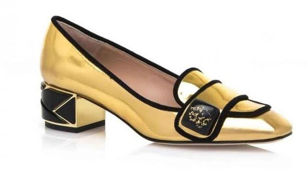 FOTO #7: Zapatos dorados